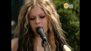 Avril Lavigne - My Happy Ending Acoustic [Live Nick U Pick 2004]