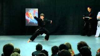 The Last Airbender's Noah Ringer talks with ATA Martial Arts at XMA HQ
