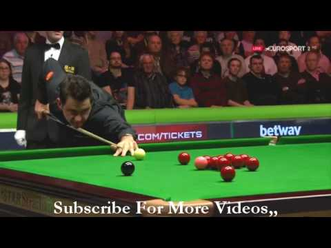 Ronnie O Sullivan Awesome Clearance Against Mark Selby 2017