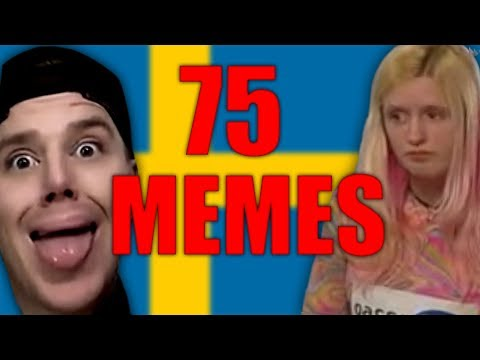 75 SVENSKA MEMES PÅ 260 SEKUNDER!