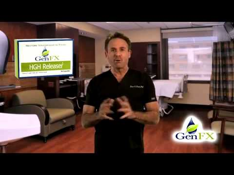 HGH releaser GenFX is a human growth hormones pill and natural herbal supplements