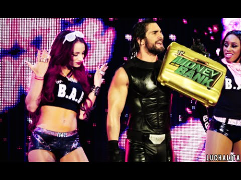Sasha Banks & Seth Rollins -I Need Hero - Phenomenal AGRC