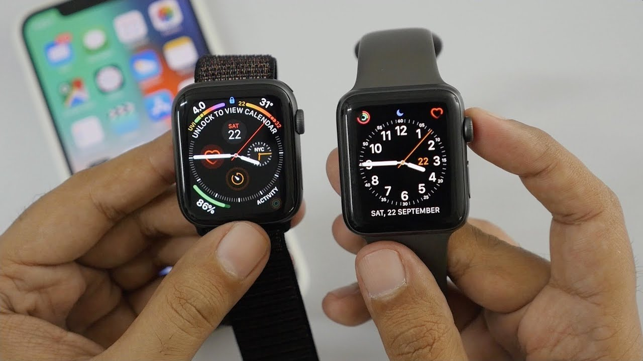 4ee70267cc9 Apple Watch Series 4 Unboxing   Setup (44mm Model) - YouTube