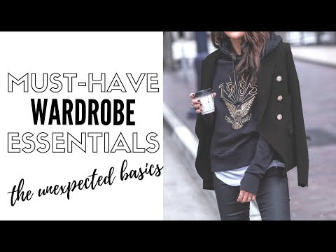 10 Unexpected Fashion Essentials For A Killer Wardrobe | How To Style