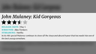 'Kid Gorgeous' is another good hour by John Mulaney