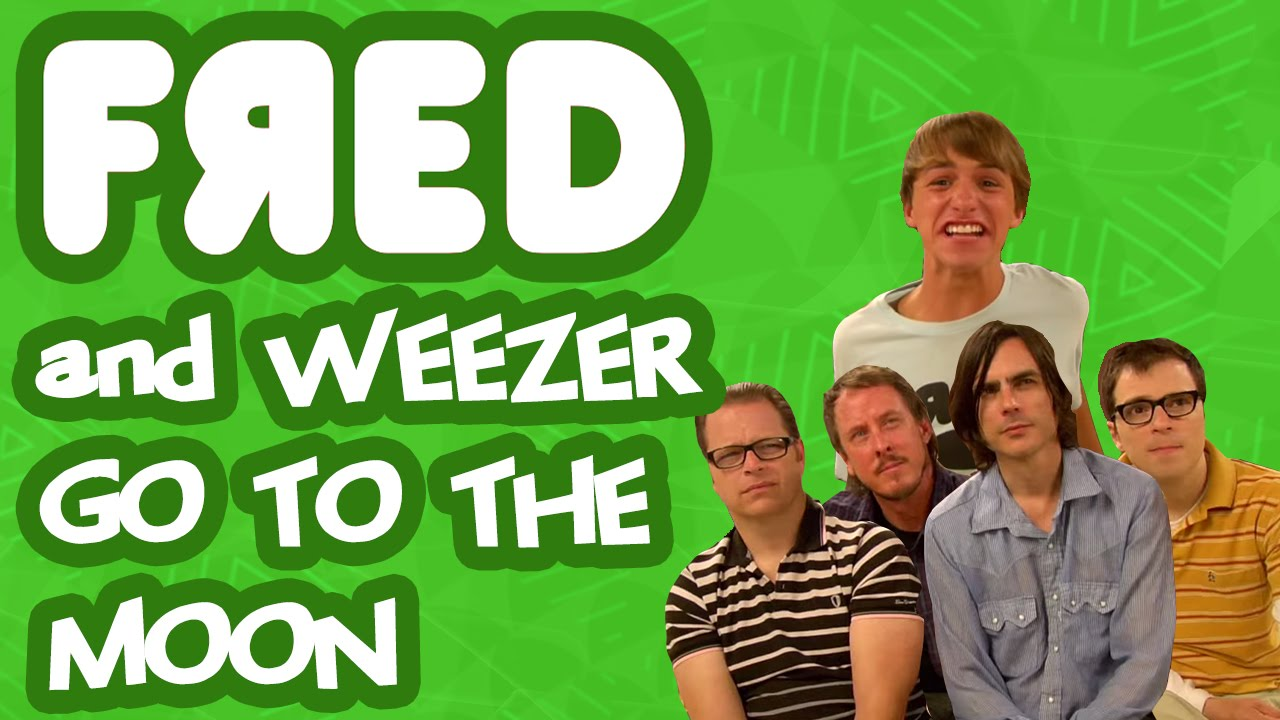 fred and weezer go to the moon youtube