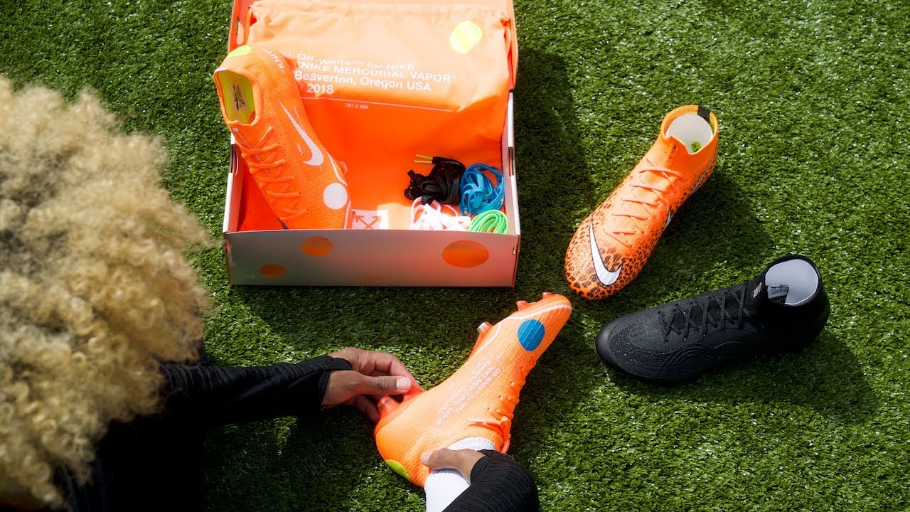 nike mercurial off white cleats
