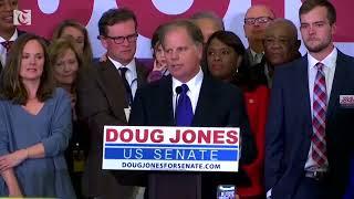 Democrat Jones wins U.S. Senate seat in Alabama in blow to Trump thumbnail