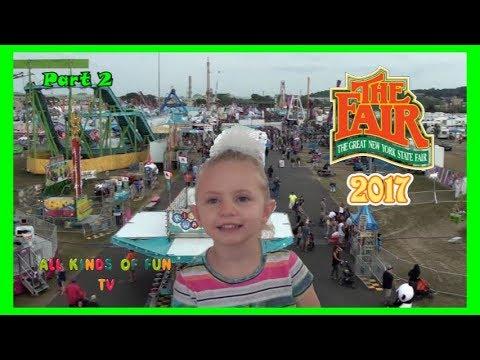 New York State Fair 2017 Family Fun outdoor Theme Park Part 2