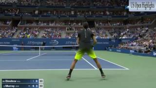 Andy Murray vs Grigor Dimitrov   US OPEN 2016 Highlights   YouTube