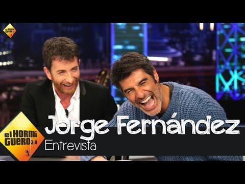 Jorge Fernández presume de cuerpazo en 'El Hormiguero' - El hormiguero 3.0
