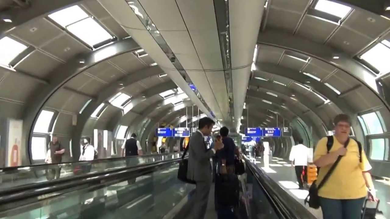 Frankfurt Airport (FRA) DB Bahnhof directions to - YouTube