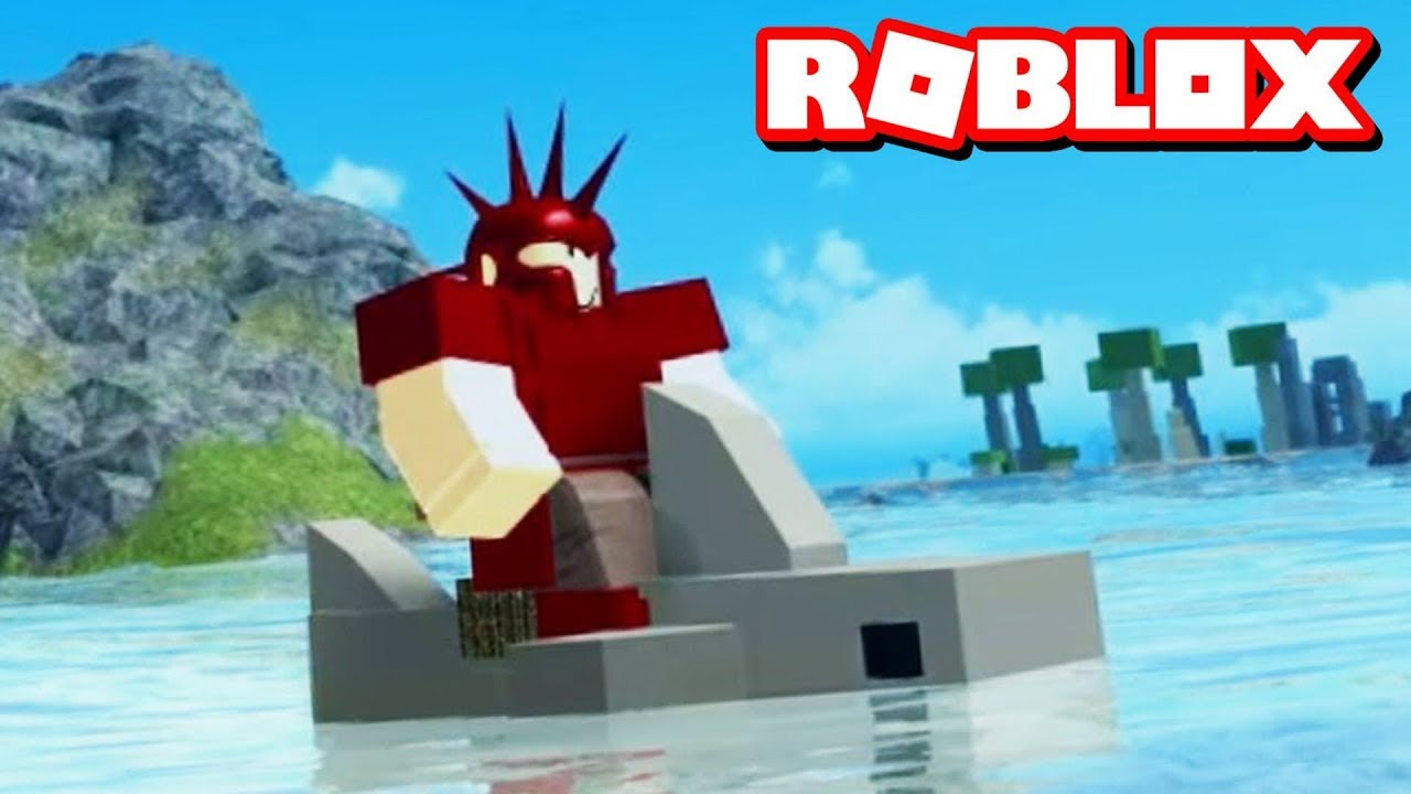 SHARK RIDING UPDATE!! | Roblox Booga Booga