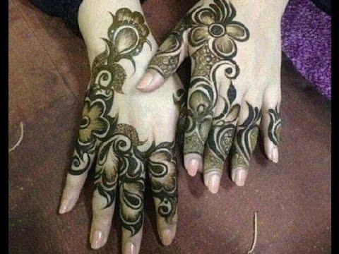 Modern Arabic Mehndi Designs 2014 : Arabic henna design easy and stylish hennaandnailart youtube