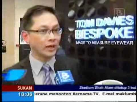 Bernama TV - Media Launch TD Tom Davies by Eyecon - English