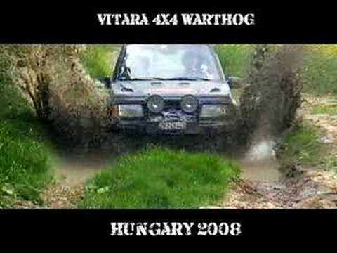 Vitara 4x4 Warthog: Hungary Offroad 2008