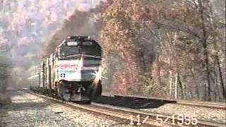 Conrail Pittsburgh Line mid 1990s