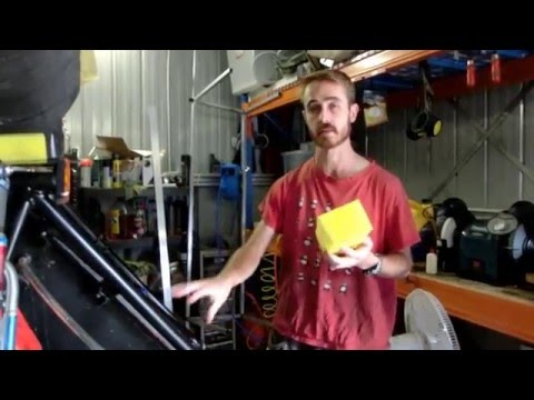 How to Cut Fuel Foam - The Easy Way!