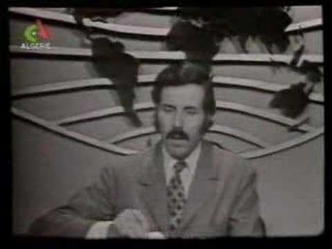 la RTA des annees 70 Algerie TV journal televisé