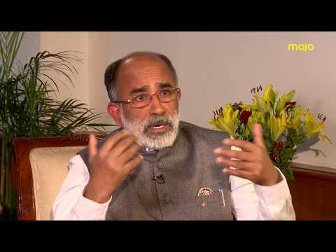 KJ Alphons in conversation with Barkha Dutt