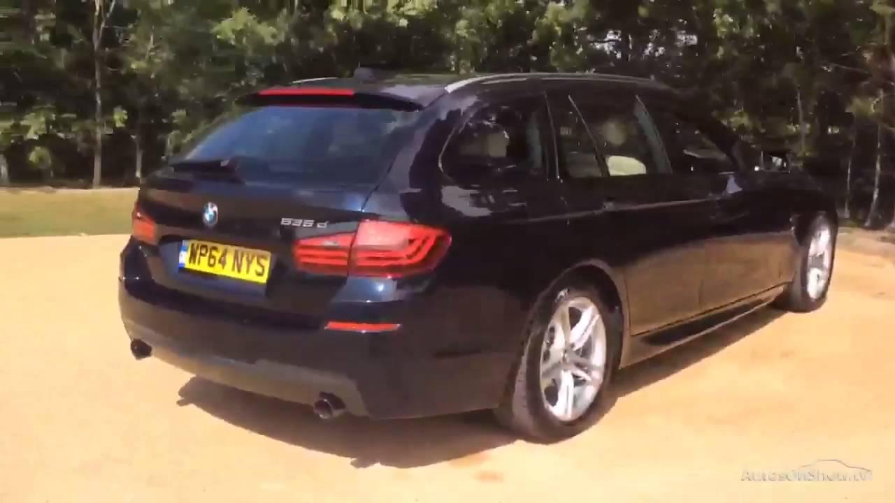 BMW 5 SERIES 535D M SPORT TOURING BLACK 2014