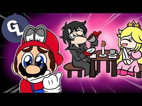 Peach Cheats on Mario with Joker