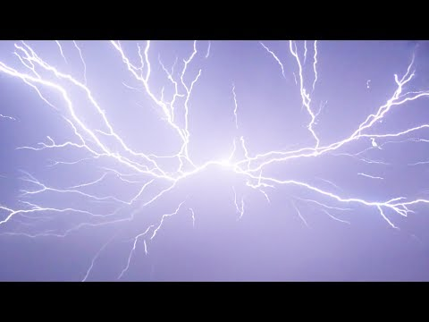 THE ULTIMATE LIGHTNING STORM - In Slow Motion - YouTube