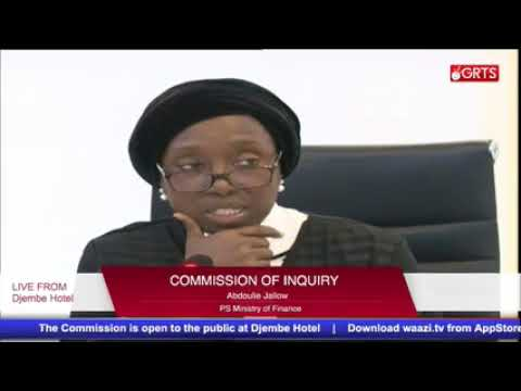 Commission of inquiry 19th Oct Part 1