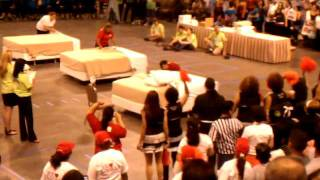 Bed Making Competition (housekeeping Olympics 2011)