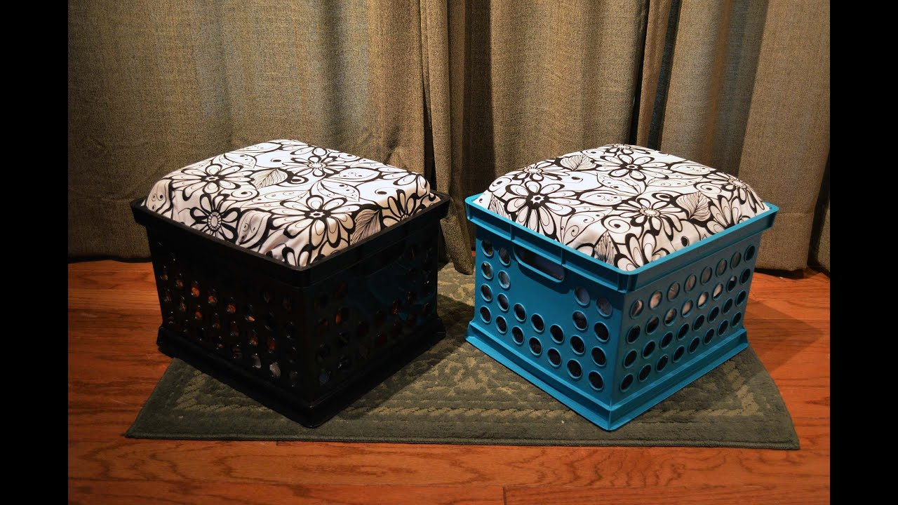 Seat Cushion for Crate Tutorial  YouTube