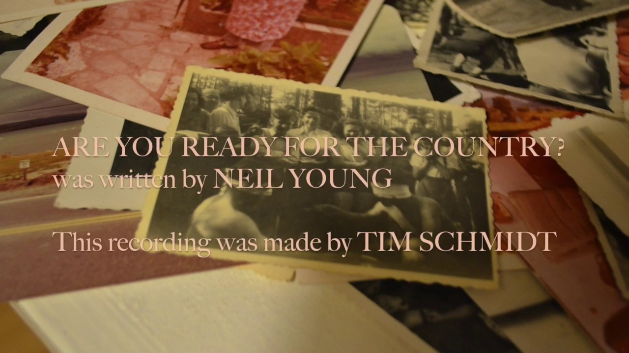 A Workingman's Dead-eque version of Are You Ready for The Country? by Tim Schmidt, for ya!