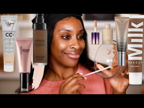 I Mixed ALL My Foundations With The Same Shade Name Together And GIRLLL...