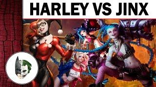 Харлі Квінн (DC) проти Джинкс (LoL) - Битва божевільних