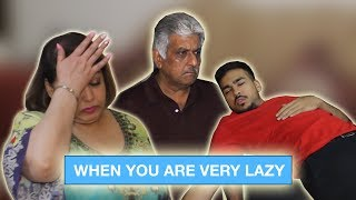When you are very lazy ⎜Super Sindhi