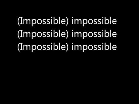 James Arthur  Impossible Lyrics
