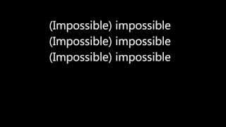 James Arthur - Impossible (Lyrics) Video