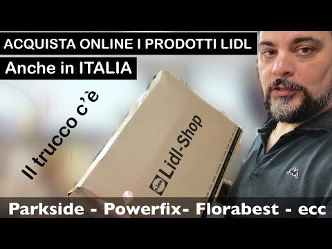 Ordina online da LIDL, IN ITALIA i prodotti parkside, powerfix SU LIDL ecc. Monsieur cousine Connect