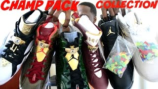 JORDAN CHAMPIONSHIP PACK 1st FULL SET COLLECTION: 6 PAIRS TOTAL w/ UNBOXING & OVERVIEW