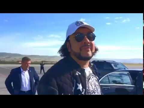 Филипп Киркоров прилетел в Улан-Удэ