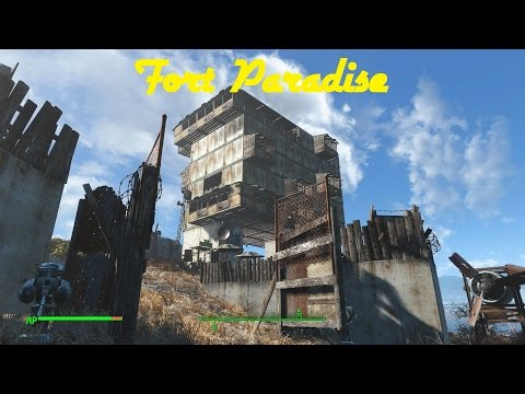 Fallout 4 Settlements: Fort Paradise