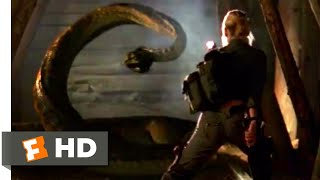 Anacondas: Trail of Blood (2009) - Tunnel Snake Scene (2/10) | Movieclips