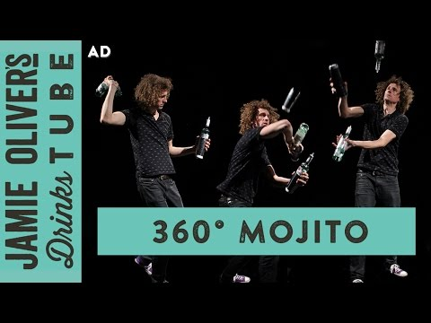 360 Degree Bullet Time Mojito Cocktail with Flair Bartending | Tom Dyer
