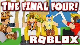 THE FINAL FOUR!! WHO WILL WIN 5,000 COINS?! (Roblox Crew Big Brother - Ep. 3)