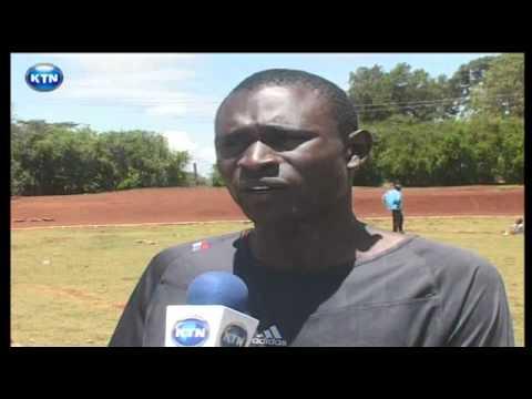 Athletes on Kipchoge Keino stadium renovations