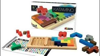 Katamino Puzzle Game - Fill The Pentaminos To Make A Square!