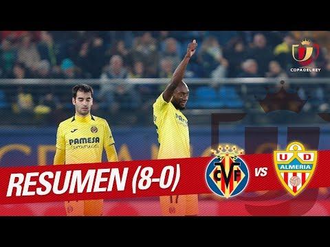 Resumen de Villarreal CF vs UD Almería (8-0)