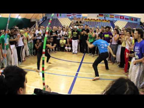 Saturday Final Roda Part2. First Capoeira Meeting, Moscow. CDO Mestre Cueca