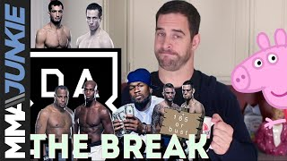 The Break: On Peppa Pig interrupting Bellator 206, Cormier-Jones beefing and more