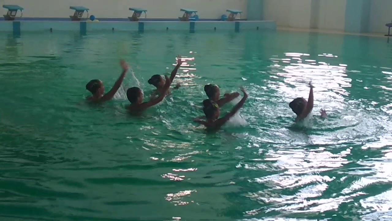 Группа 12 и моложе синхронное плавание детский чемпионат республики Казахстан