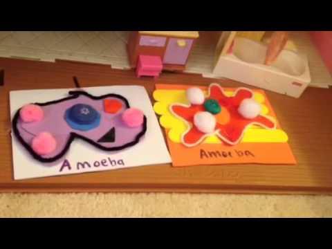 how to make amoeba in maya